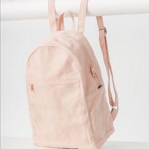 BAGGU canvas backpack pink EUC